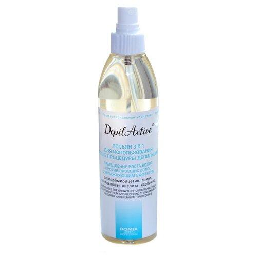 Domix DepilActive Лосьон 3 в 1 для использования после процедуры депиляции 320 мл