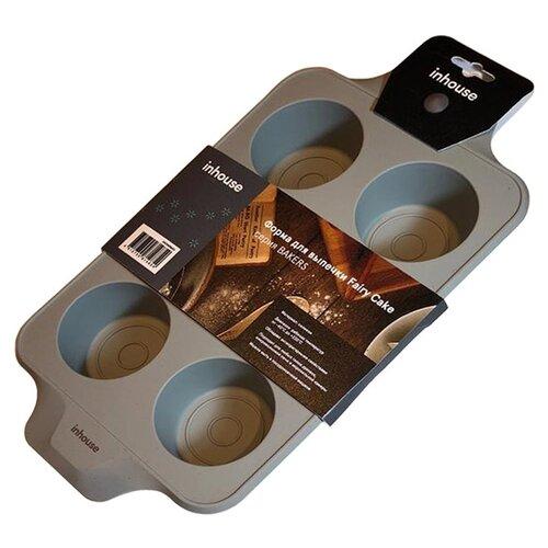 Форма для выпечки силиконовая inhouse IHCHARM03 (33х18.5х5 см) форма для выпечки rondell rdf 446