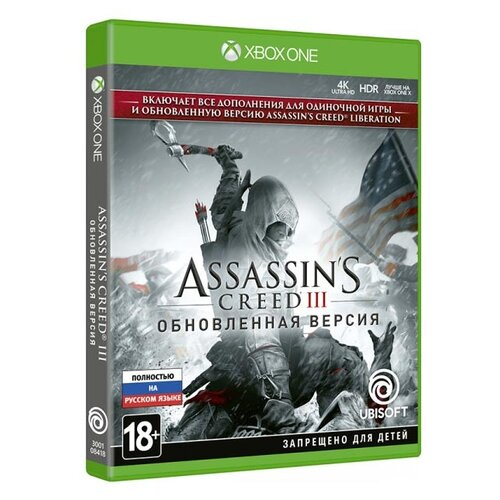 Игра для Xbox ONE Assassin\'s Creed III Remastered