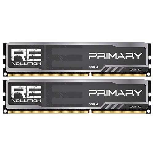 Оперативная память Qumo DDR4 2800 (PC 22400) DIMM 288 pin, 16 ГБ 2 шт. 1.2 В, CL 16, ReVolution Primary Q4Rev-32G2M2800P16Prim qumo fit 2 page 2