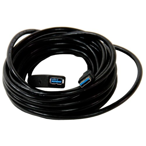цена на Удлинитель VCOM USB - USB (CU827) 5 м черный