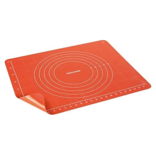 Коврик для раскатки теста Tescoma 629449 (60х50 см) лист силиконовый для раскатки теста dosh home gemini 40 x 50 см