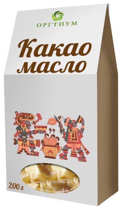 Какао масло горячего первого отжима. Оргтиум, 200 г
