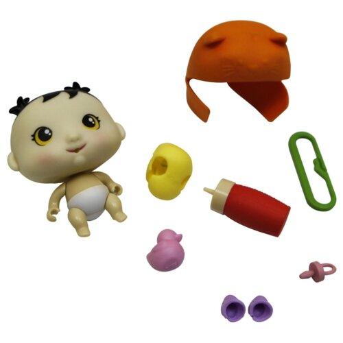 Купить Пупс 1 TOY Крошки-горошки, 6 см, Т15829, Куклы и пупсы