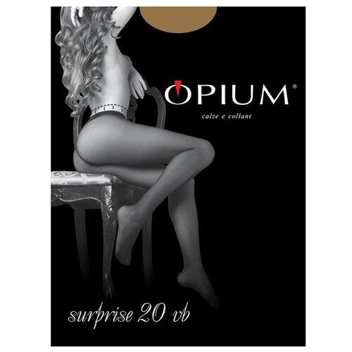 Колготки Opium Surprise 20 den, размер 2, visone (коричневый) колготки opium comfort 20den 2 visone