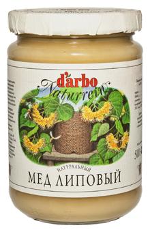 Мёд DARBO Липовый, стекло 500 г