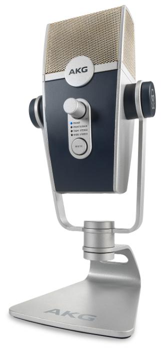 Микрофон AKG Lyra (C44-USB) серый/черный фото 1
