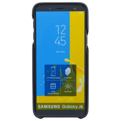 Чехол G-Case Slim Premium для Samsung Galaxy J6 (2018) (накладка) черный