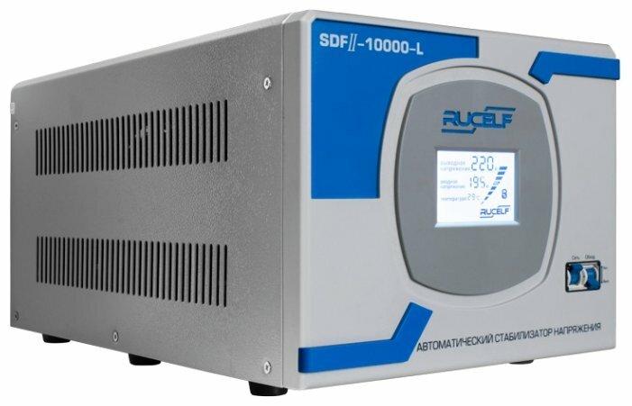 Стабилизатор напряжения однофазный RUCELF SDFII-10000-L (8 кВт)