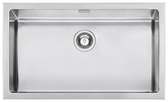 Врезная кухонная мойка smeg VQR71 77.5х46.6см нержавеющая сталь