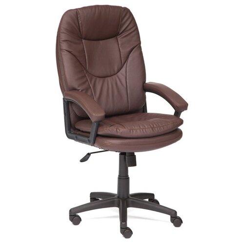 цена на Компьютерное кресло TetChair Comfort LT офисное, обивка: искусственная кожа, цвет: коричневый