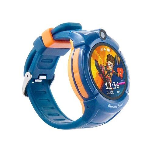 Часы Кнопка жизни Sport синий