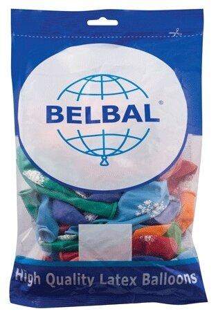 Набор воздушных шаров Веселая затея С Днем Рождения 1103-0081 (50 шт.)