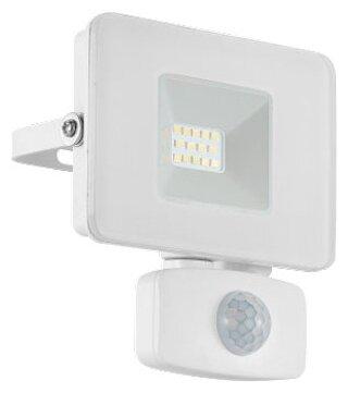 Прожектор светодиодный с датчиком движения 10 Вт Eglo Faedo 3 33156