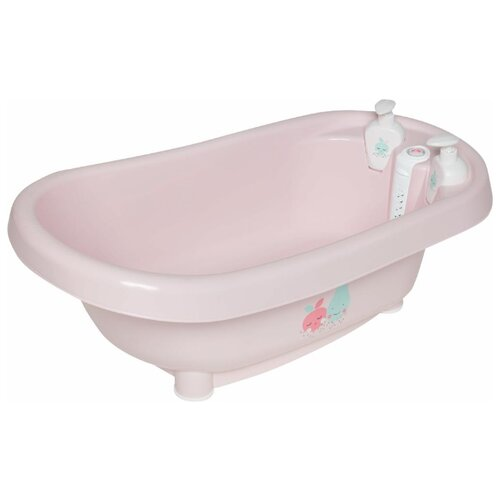 Ванночка Bebe-Jou Thermo bath 05, Нежный румянец горшки bebe jou 6025