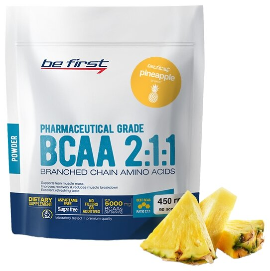 BCAA Be First BCAA 2:1:1 Classic Powder (450 г)