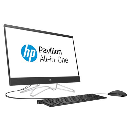 Моноблок HP 24-f0020ur (4HD03EA) Intel Pentium Silver J5005/4 ГБ/1000 ГБ/Intel UHD Graphics 600/23.8/1920x1080/Windows 10 Home 64Моноблоки<br>