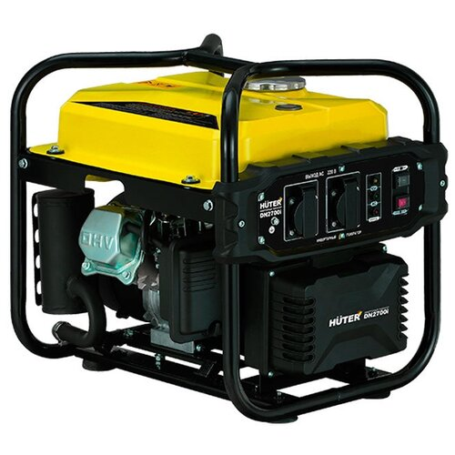 Бензиновый генератор Huter DN2700i (2200 Вт) газо бензиновый генератор huter dy4000lg 3000 вт