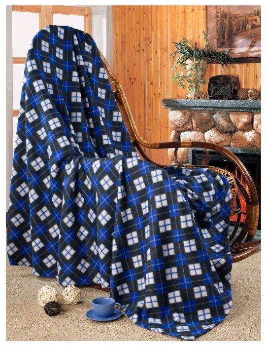 Плед Guten Morgen Звездная ночь, 150 x 200 см синий