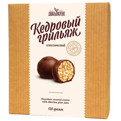 кедровый грильяж сибирские афины с вишней 125 г Набор конфет Дико вкусно Кедровый грильяж 120 г