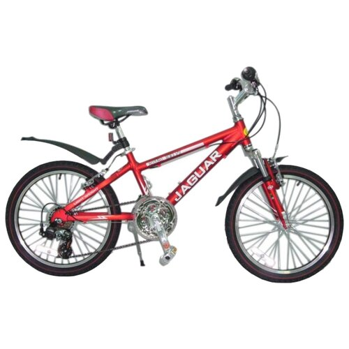 Подростковый горный (MTB) велосипед JAGUAR MS-Alfa 20-18S красный (требует финальной сборки)Велосипеды<br>