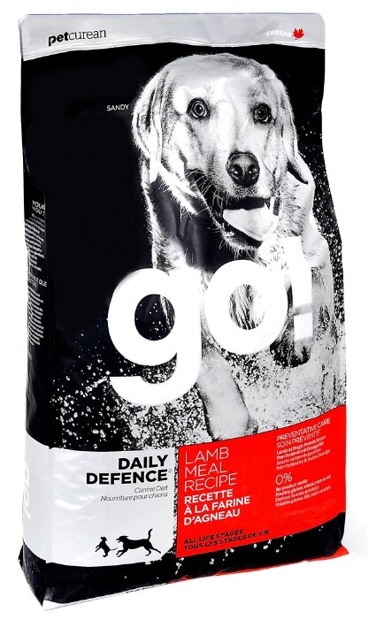 Корм для собак GO! Daily Defence Lamb Dog Recipe