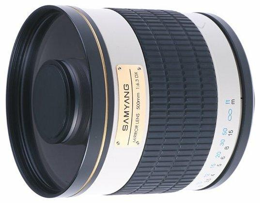 Объектив Samyang 500mm f/6.3 MC IF Mirror Pentax K/KAF/KAF2
