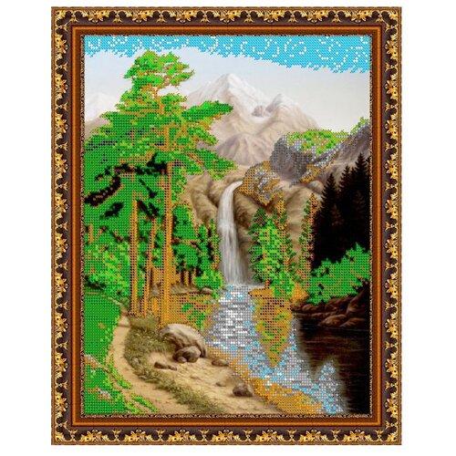 Светлица Набор для вышивания бисером Водопад 25 x 30,3 см, бисер Чехия (255)