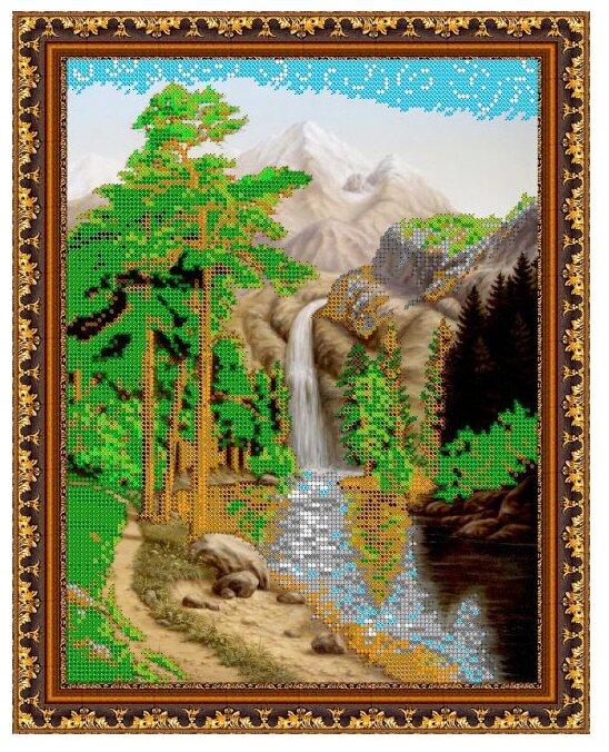 Светлица Набор для вышивания бисером Водопад 25 x 30 7bc97cdd510b9