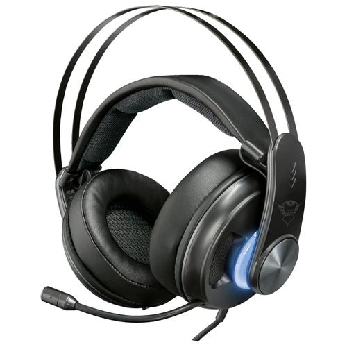 Компьютерная гарнитура Trust GXT 383 Dion 7.1 Bass Vibration Headset черный компьютерная акустика trust