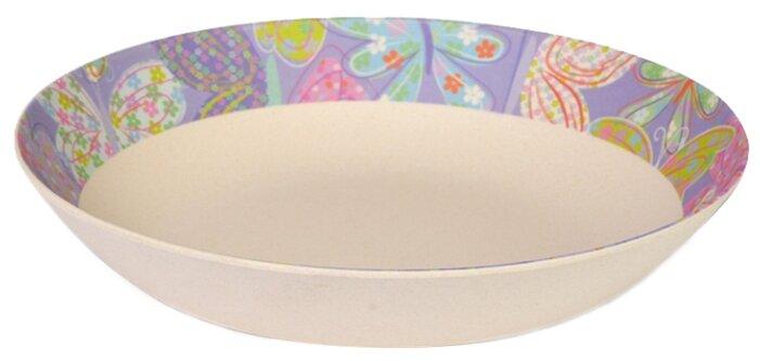 Тарелка глубокая Fissman Flower 22x4,4 см