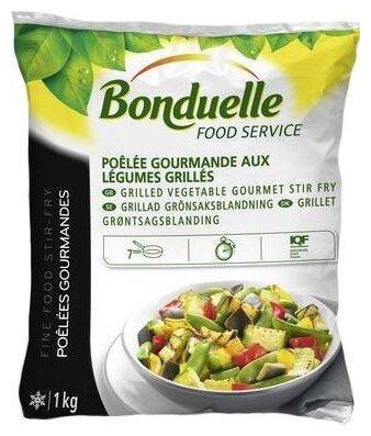 Bonduelle замороженная смесь овощная для жарки гурман гриль 1000 г