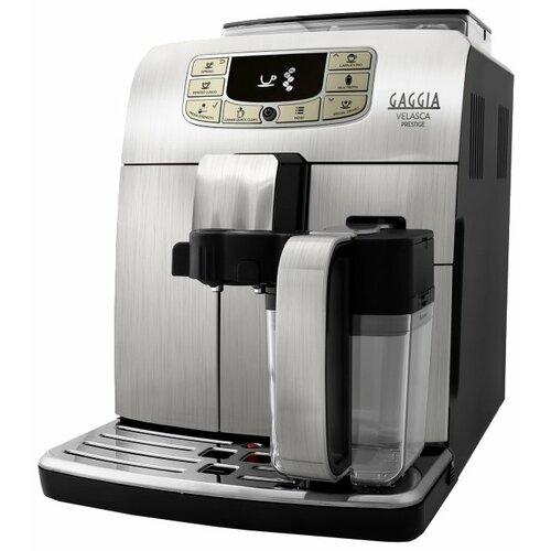 Кофемашина Gaggia Velasca Prestige серебристый/черный