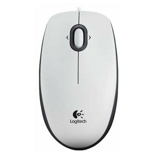 Мышь Logitech Mouse M100 White USB цена 2017