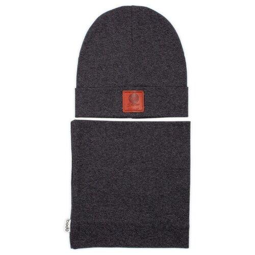 Комплект bodo размер 54-56, темно-серыйГоловные уборы<br>