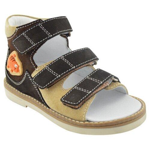 Сандалии Orthoboom размер 30, темно-коричневый/бежевый ботинки orthoboom orthoboom or016abcybt4