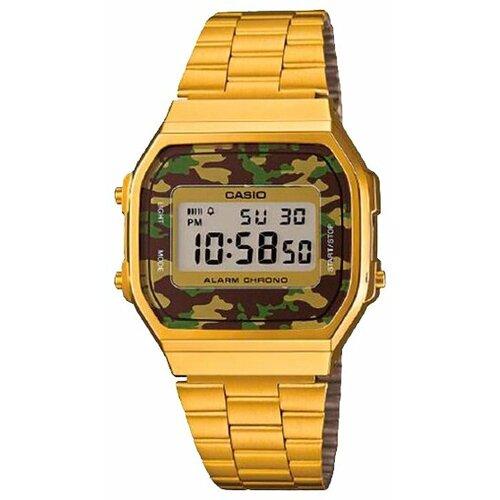 цена Наручные часы CASIO A-168WEGC-3E онлайн в 2017 году