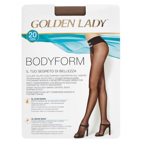 Колготки Golden Lady Bodyform 20 den, размер 4-L, daino (бежевый) колготки golden lady bodyform 20 den размер 4 l nero черный