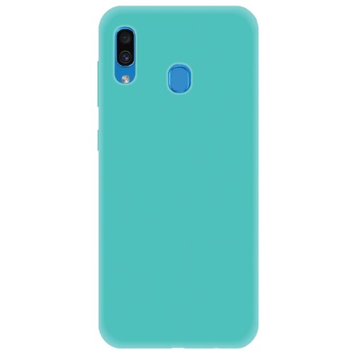Чехол LuxCase TPU для Samsung Galaxy A30 (2019) бирюзовый