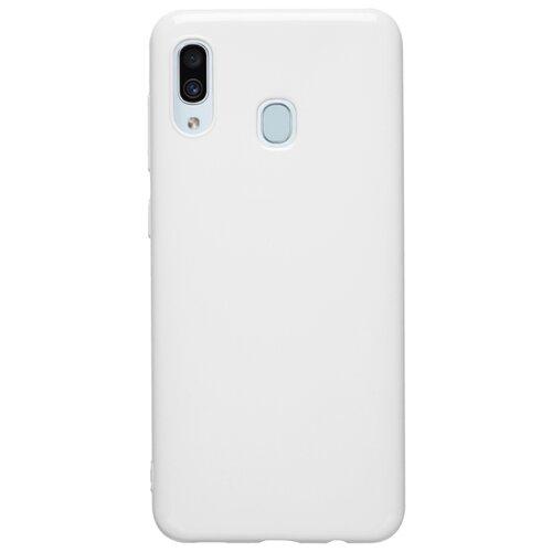 Чехол-накладка Deppa Gel Color Case для Samsung Galaxy A30 (2019) белый чехол deppa gel color case для samsung galaxy a30 a20 2019 синий