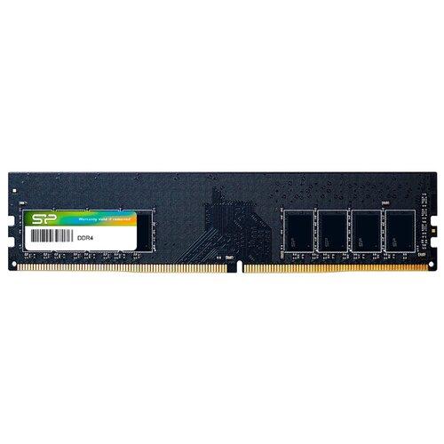 Оперативная память Silicon Power DDR4 2666 (PC 21300) DIMM 288 pin, 16 ГБ 1 шт. CL 16, SP016GXLZU266B0A