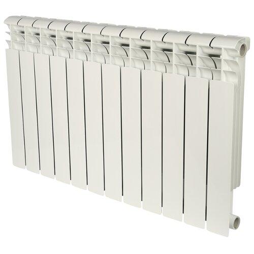 Радиатор секционный биметаллический ROMMER Profi Bm 500 x12 500/80 12 секций , подключение универсальное боковоеРадиаторы<br>