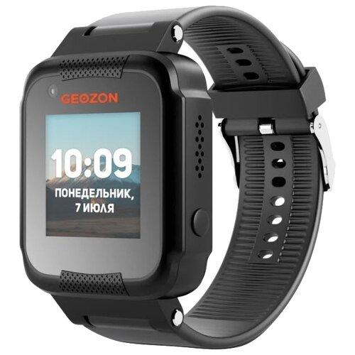 Детские умные часы c GPS GEOZON AIR черный детские умные часы c gps geozon active розовый