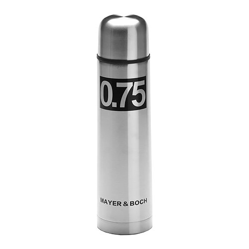 Классический термос MAYER & BOCH 27612, 0.75 л серебристый