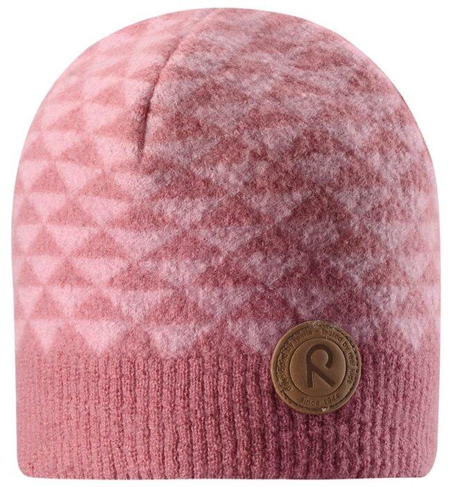 Шапка-бини Reima размер 52, розовый