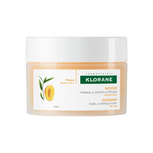 Klorane СУХИЕ ВОЛОСЫ Питание и защита Питательная маска с маслом манго, 150 мл где купить шампунь klorane