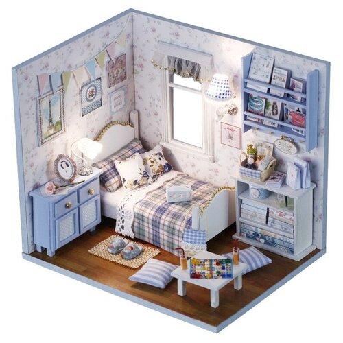 Купить Dolemikki кукольный домик ZQW01, голубой, Кукольные домики