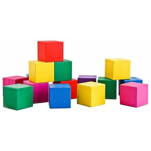 Кубики Томик Цветные 2323 конструктор томик кубики цветные 20 элементов 2323
