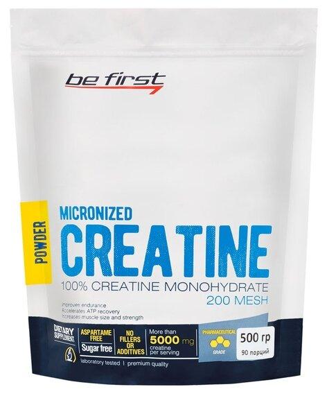 Креатин Be First Micronized Creatine Monohydrate Powder (500 г)