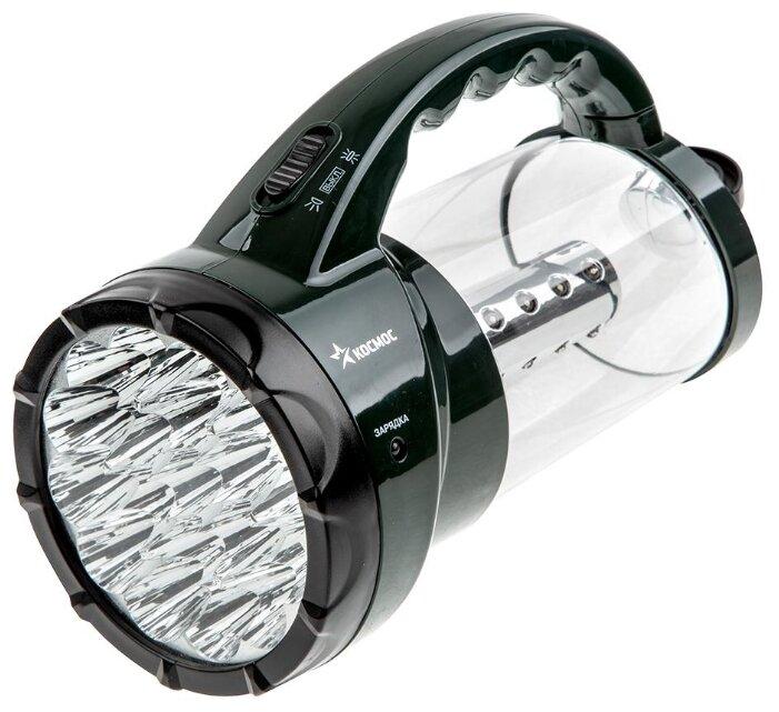 Фонарь ручной Космос KOSACCU9107WUSB Premium аккумуляторный, 7W LED
